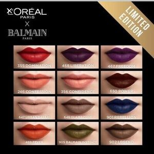 Limited addition L'Oreal Balmain lipstick